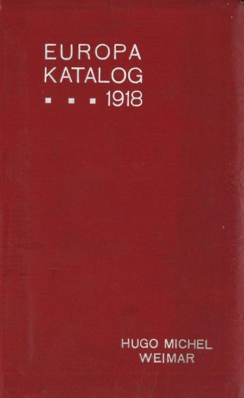 2016–2018 = 9 Stück Kataloge & Literatur Gut Lot Philex/dnk/michel-kataloge