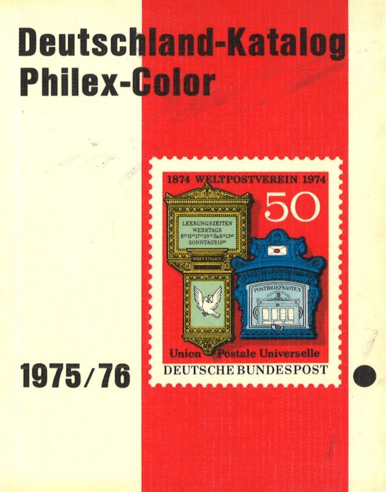 Philex Deutschland Briefmarken Kataloge Köln 1965 1976